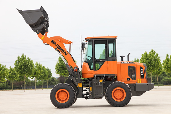 Construction Machine Ce Approved Articulated 2 Ton Mini Small Wheel Loader with Rops&Fops Cabin