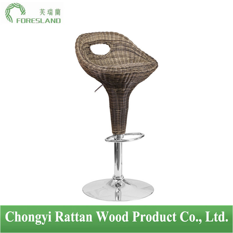 PE Rattan Bar Chair Counter Stool PS-04