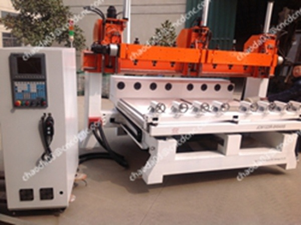 5 Axis Jcw1325r-8h Rotary Wood CNC Router for Sofa Leg