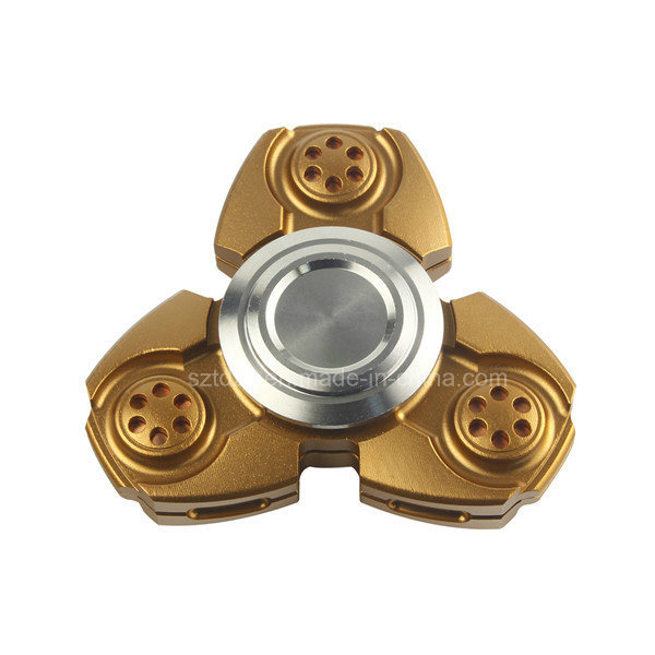 2017 New Relieve Stress Tri Spinner Aluminum Hand Spinner