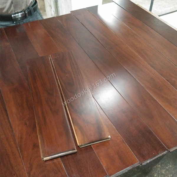 Hardwood Flooring Solid Small Leaf Acacia Wood Flooring/Engineered Flooring