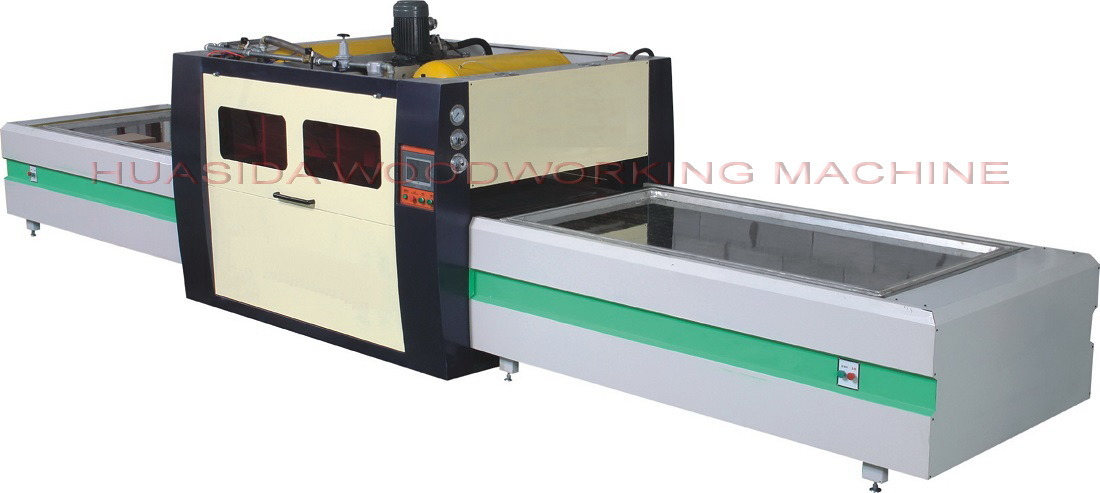 47.3KW woodworking laminating machine of positive and negative pressure