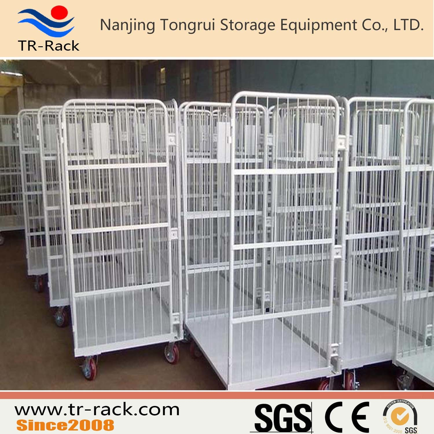 Medium Duty Loading Logistic Table Trolley for Warehouse Storage