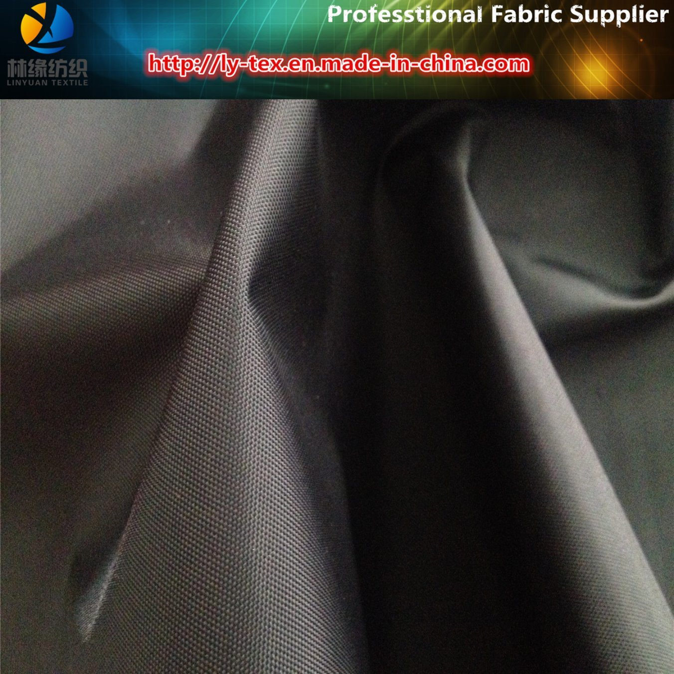 210d Nylon Oxford Fabric, 116t Nylon Oxford with Coating for Raincoat, Nylon Fabric
