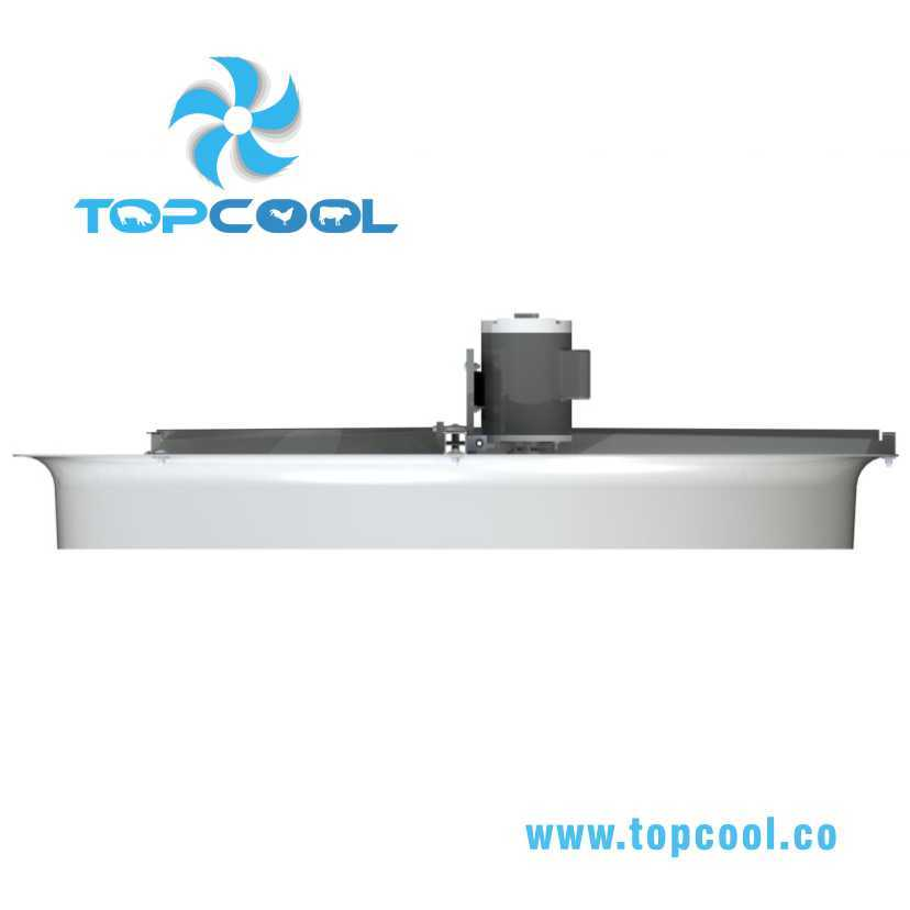 "Fiberglass Cooling Ventilation Panel Fan 36"" for Livestock and Industria Use"