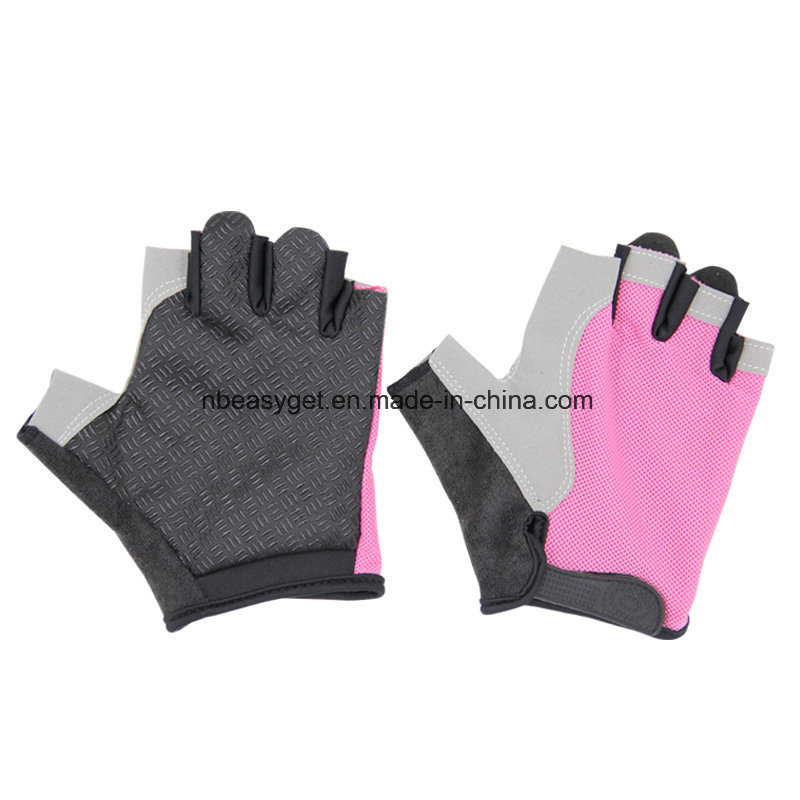 Women′s Light Non-Slip Half Finger Gel Pad Cycling Gloves Breathable Mountain Biking Riding Gym Sport Gloves