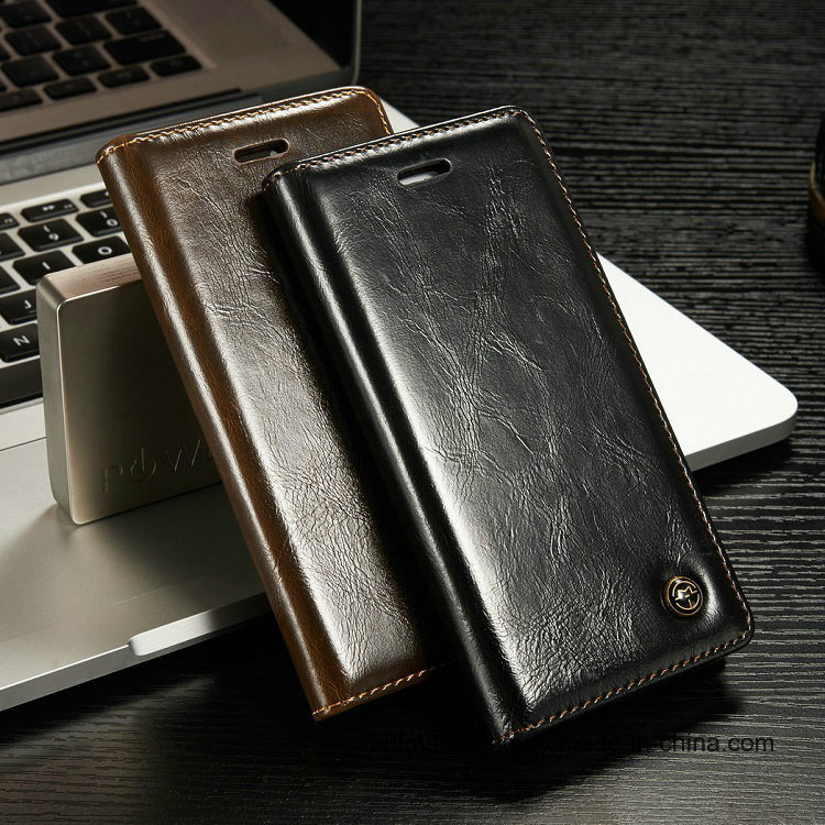 Luxury Leather Wallet Cell Phone Case for iPhone 8/8plus