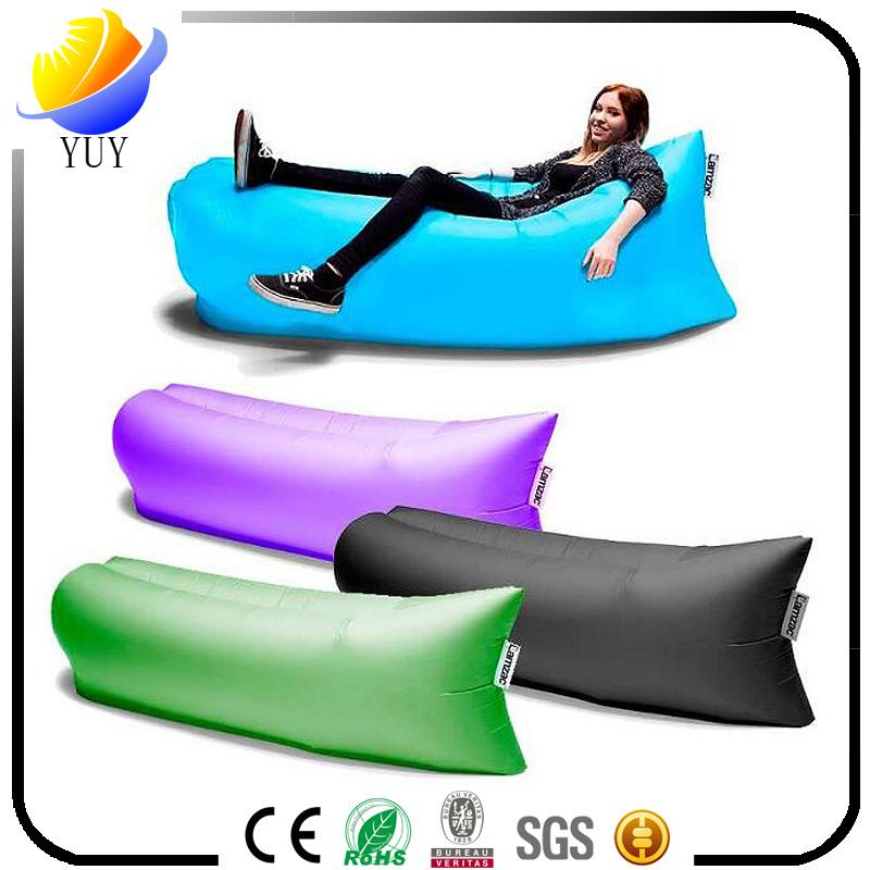 Outdoor Portable Sleeping Bag Folding Air Sofa Bed Lazy Sofa