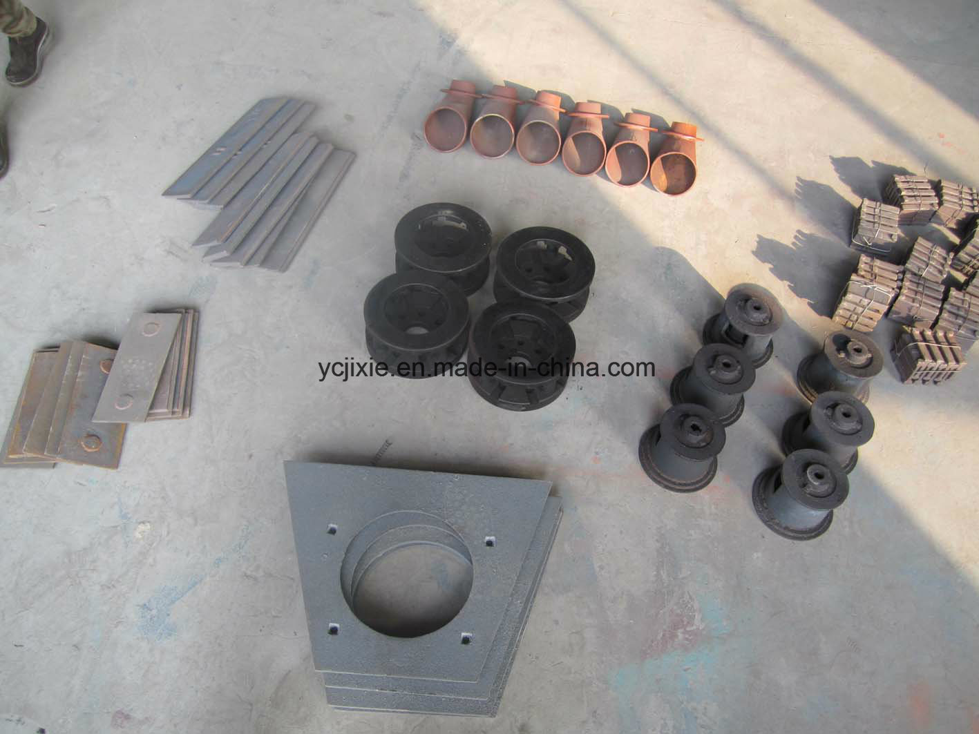 Impeller Unit / Blasting Wheel Turbines/ Shot Blaster/Shot Peening / Wheel Abrator