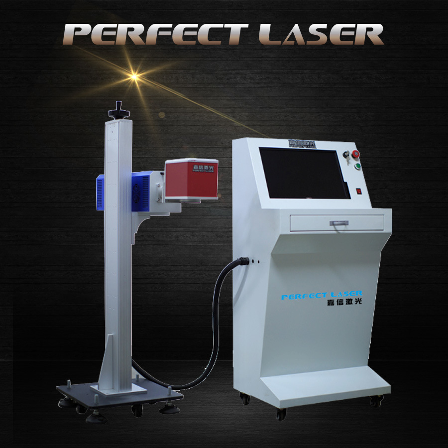 Water Bottle Batch Number Laser Marking Machine