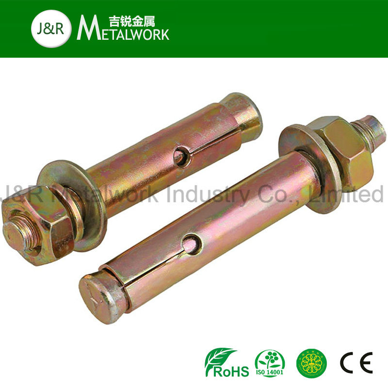 Grade 8.8/10.9/12.9 Carbon Steel Galvanized Zinc Plated Expansion Anchor Bolt