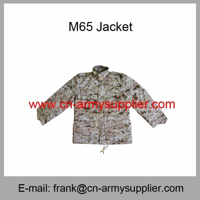 Camouflage Jacket-Army Jacket-Police-Military Jacket-M65 Combat Jacket