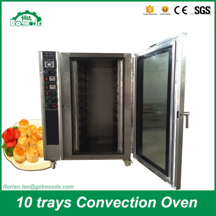 Hot Wind Loop Oven Baking Machine Gas Convection Oven for Bakery Bdc-10q