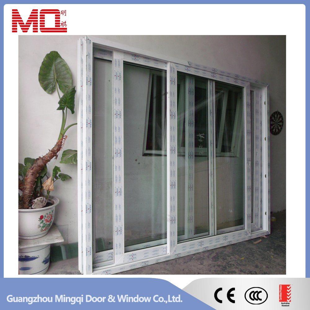 Plastic Sliding Door with Mosquito Net