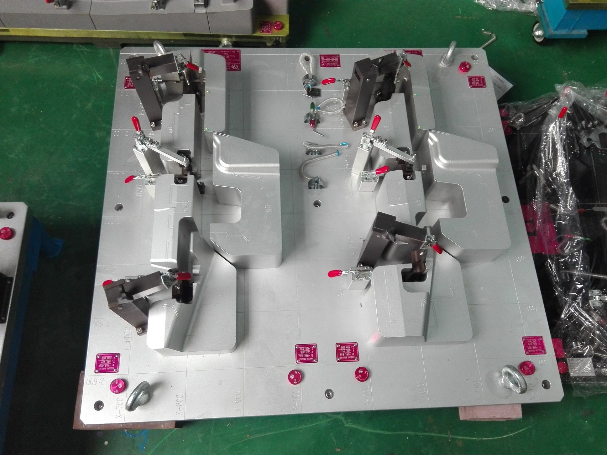Car Checking Fixture for Interior Parts
