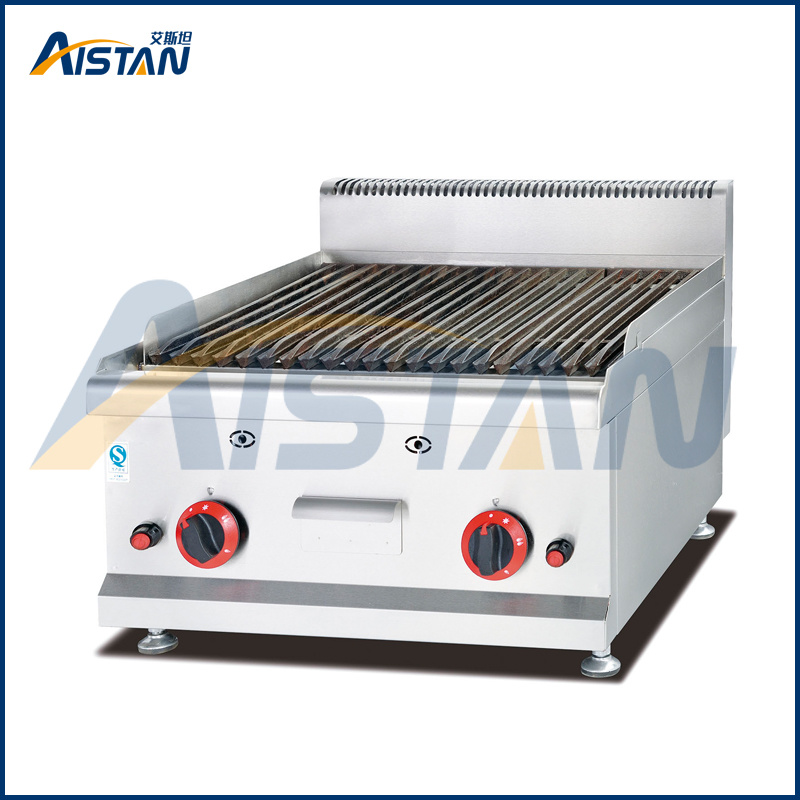Gh589 Counter Top Gas Lava Rock Grill of Catering Equipment