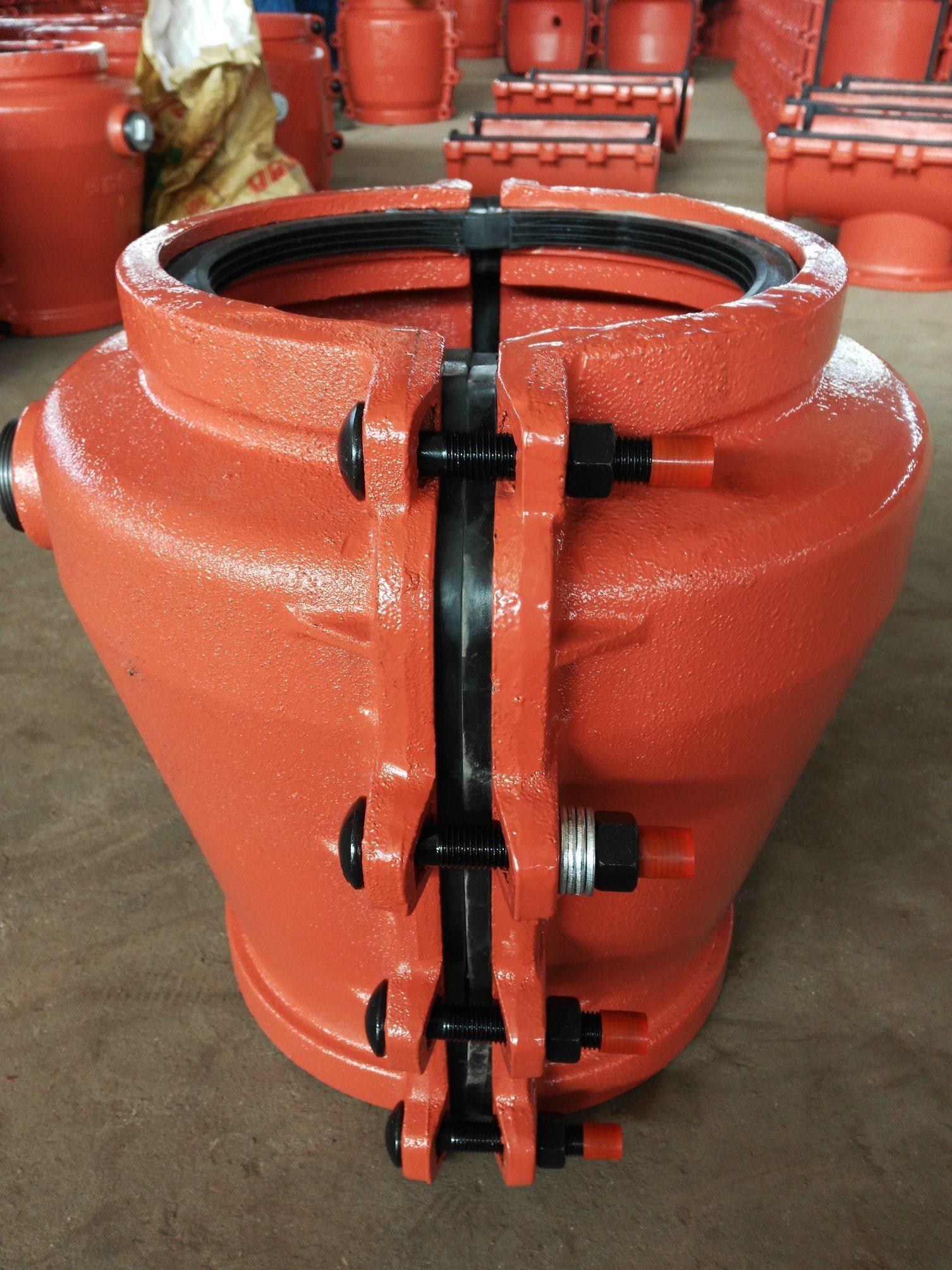 Pipe Repair Clamp Z200, Pipe Repair Coupling, Repair Pipe Clamp for Concrete Pipe. Leaking Pipe Quick Repair.