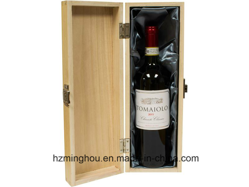 Modern Single Double Wooden Wine Box Gift Box with Accessories