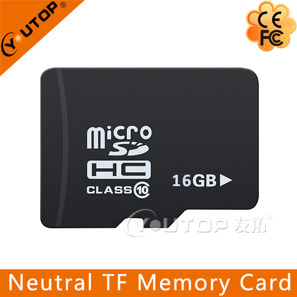 Wholesale Neutral C4/6/10 Micro SD TF Memory Card 128MB-128GB