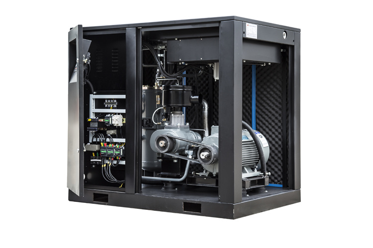 Low Noise Direct Driven Screw Air Compressor (AHD-50A)