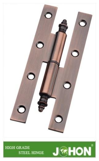 140X60mm Crank Steel or Iron Door Hardware Fastener H Hinge