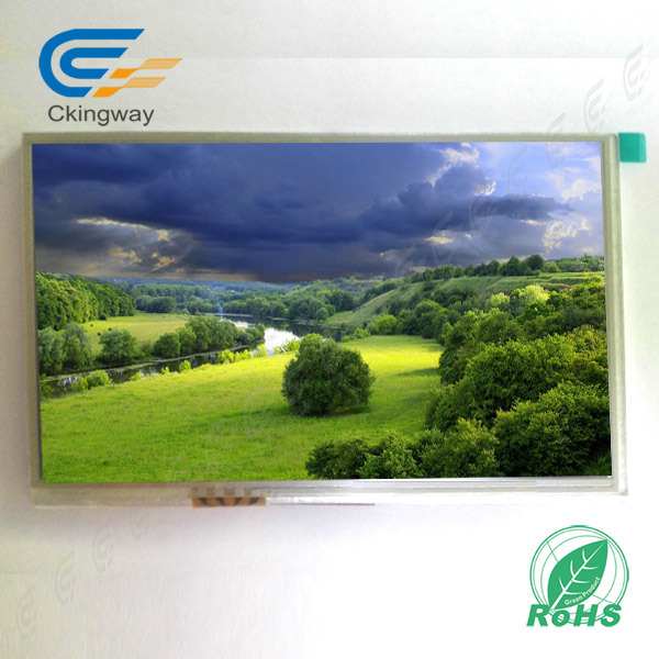 "7"" 500cr 800*480 TFT Display with Rtp"
