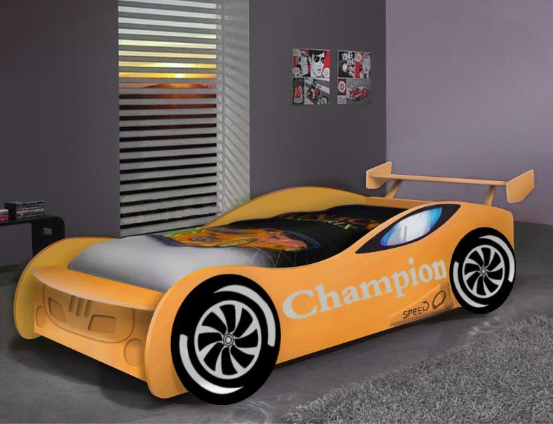Children′s Racing Bed Children Bed Furniture