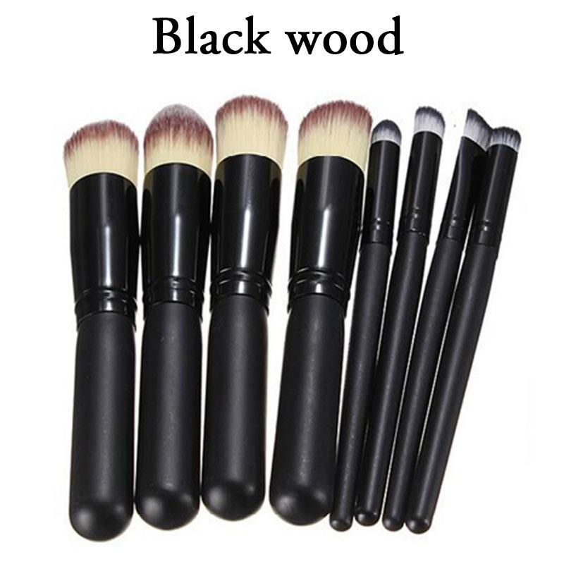 Makeup Brush Set Toiletry Kit Brand Brush Set Case 8PCS