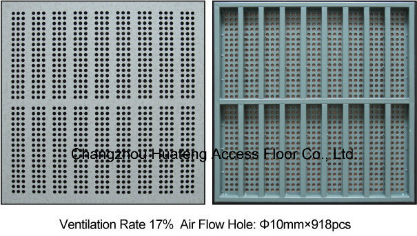 Antistatic 600*600mm Access Perforated Panel