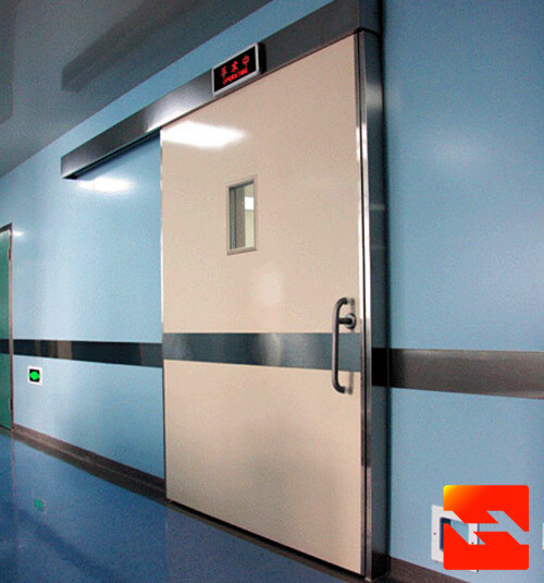 China Airtight Hospital Door, Automatic Sliding Door Kit, Operating Theatre Door Supplier (HF-J666)