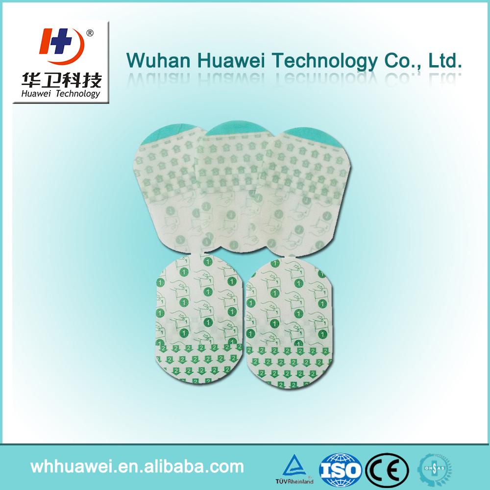 Transparent PU Film Sterile IV Catheter Dressing