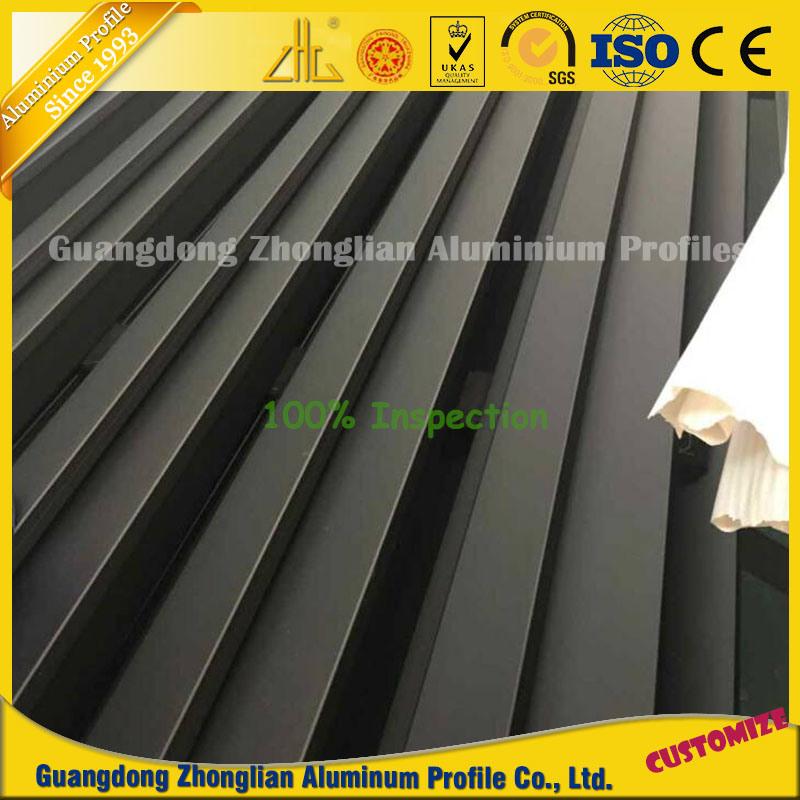 Aluminium Manufacturer Supplying Extruded Anodised Profiles Aluminum for Furnitures