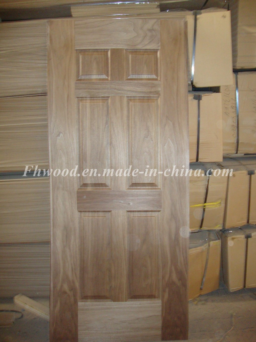 Teak Veneered Door Skin for Door Use
