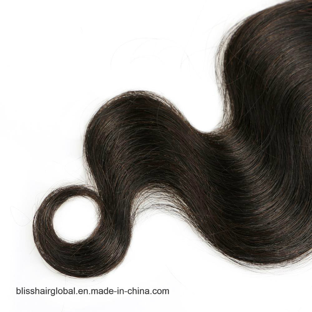 Bliss Hair 3.5X4 Lace Closure Hand Tied and Machine Middle Part Cheap Lace Closure Body Wave Indian Virgin Human Hair Closures Pieces