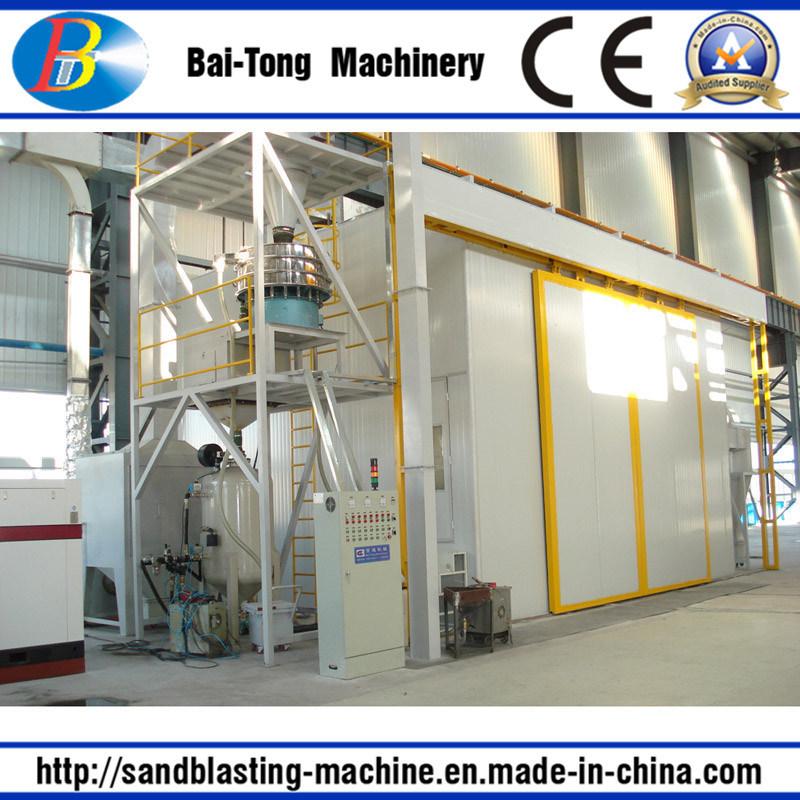 Pressure Sandblasting Sandblast Sand Blasting Room