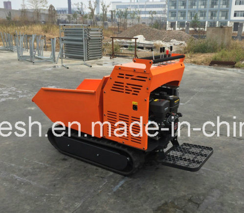 Fully Hydraulic 9HP, 500kgs Rubber Track Mini Dumper/Power Barrow/Muck Truck/Garden Transporter/Loader/Mini Transporter/Crawler Dumper/Wheel Barrow/Track Dumper