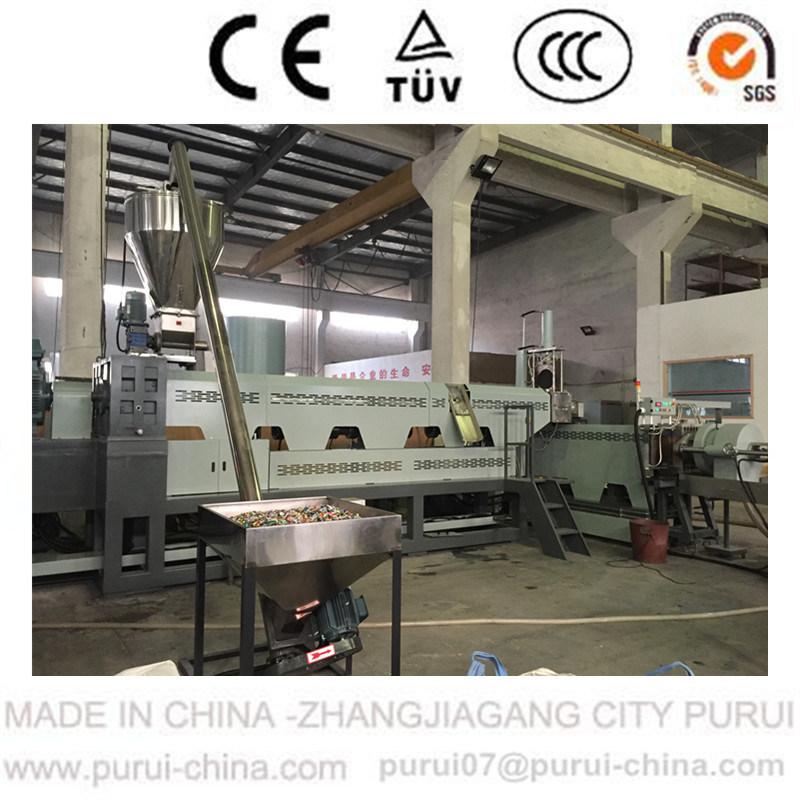 Single Screw Plastic Extruder Machine for Waste HDPE Scraps/Films