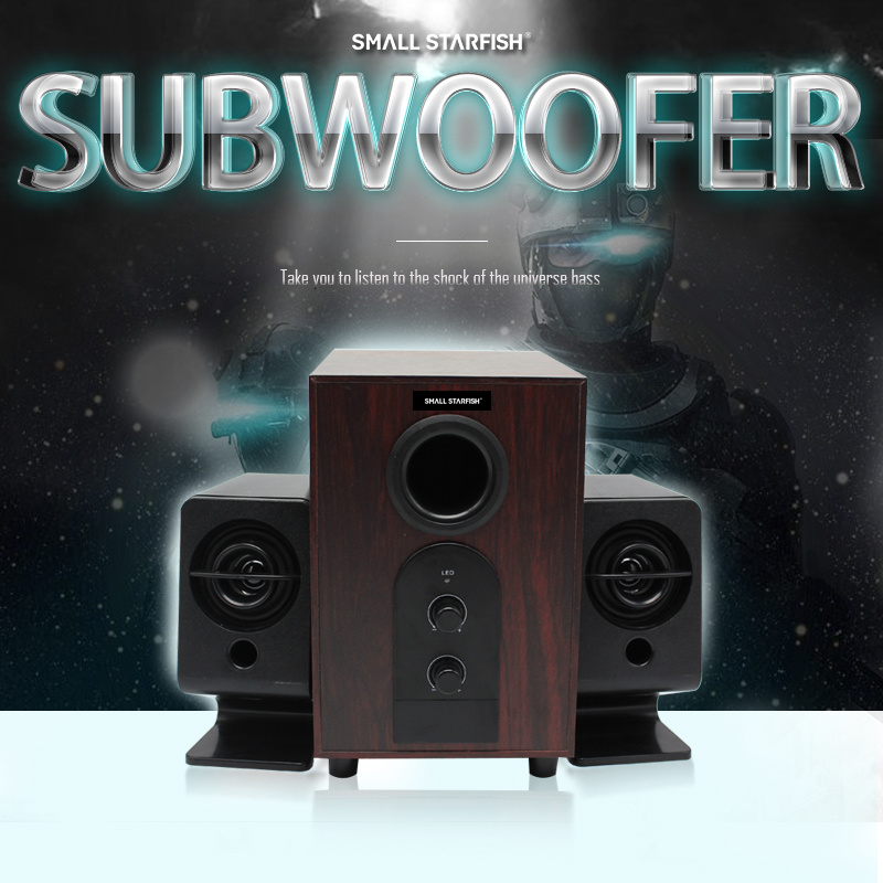Outdoor Subwoofer Speaker Box Professional PRO Audio Power Amplifier Loudspeaker