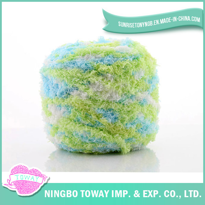 Baby Yarn Children Soft Chenille Wool Socks