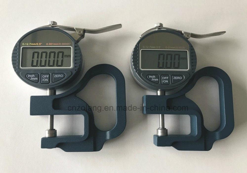 0-12.7/0.001mm Blue Handle Digital Thickness Gauge