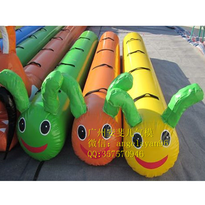 Inflatable Sport Game Inflatable PVC Caterpillar Sport Game