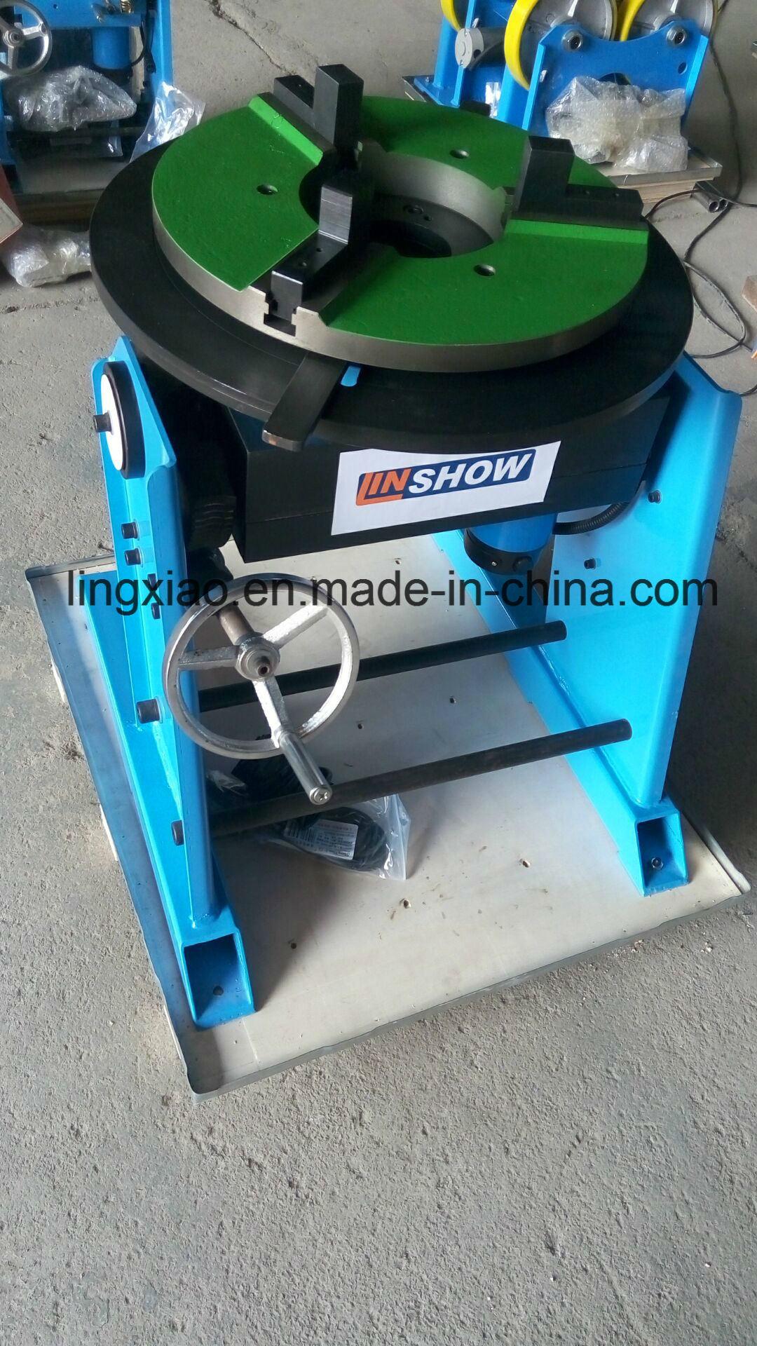 Ce Certified Welding Turntable HD-10/30/50/100/200/300/600 for Circular Welding