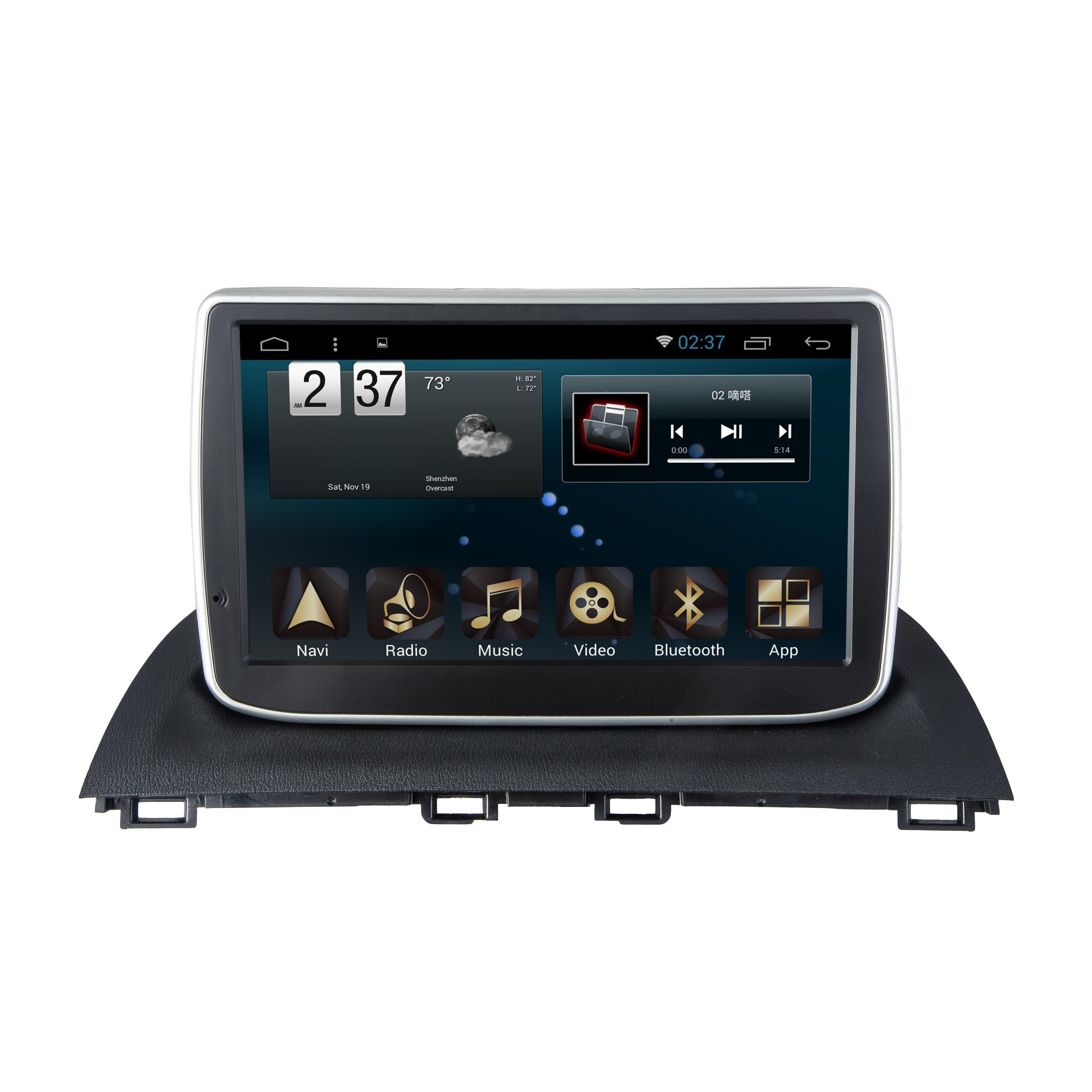 New Ui Android System Car GPS for Mazda 3 Axela with Navigation Stereo
