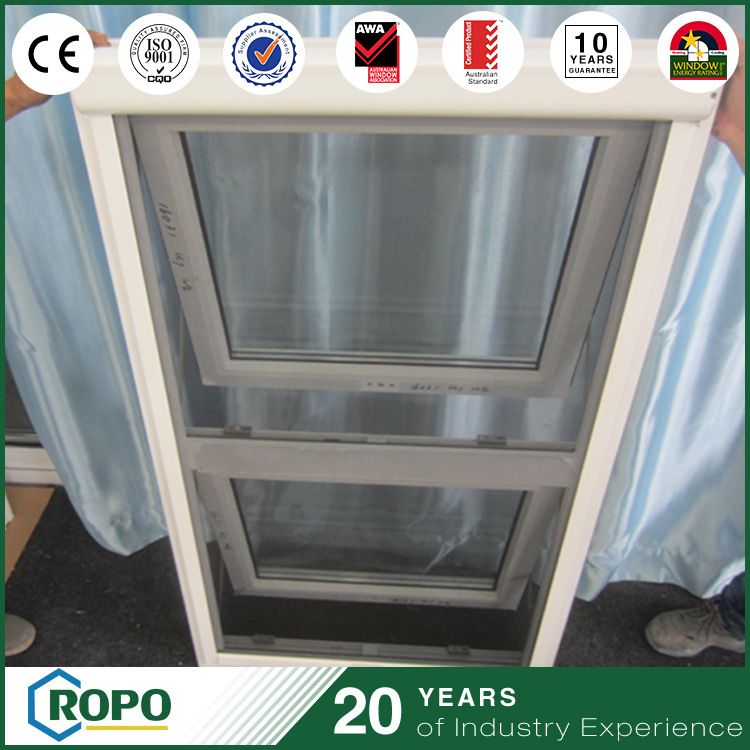 Storm Proof PVC Profile Awning Window with Retractable Fly Screen