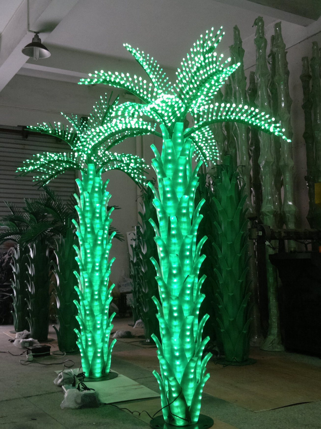 Yaye CE & RoHS Approval Waterproof IP65 Outdoor LED Coconut Tree Light & LED Coconut Tree