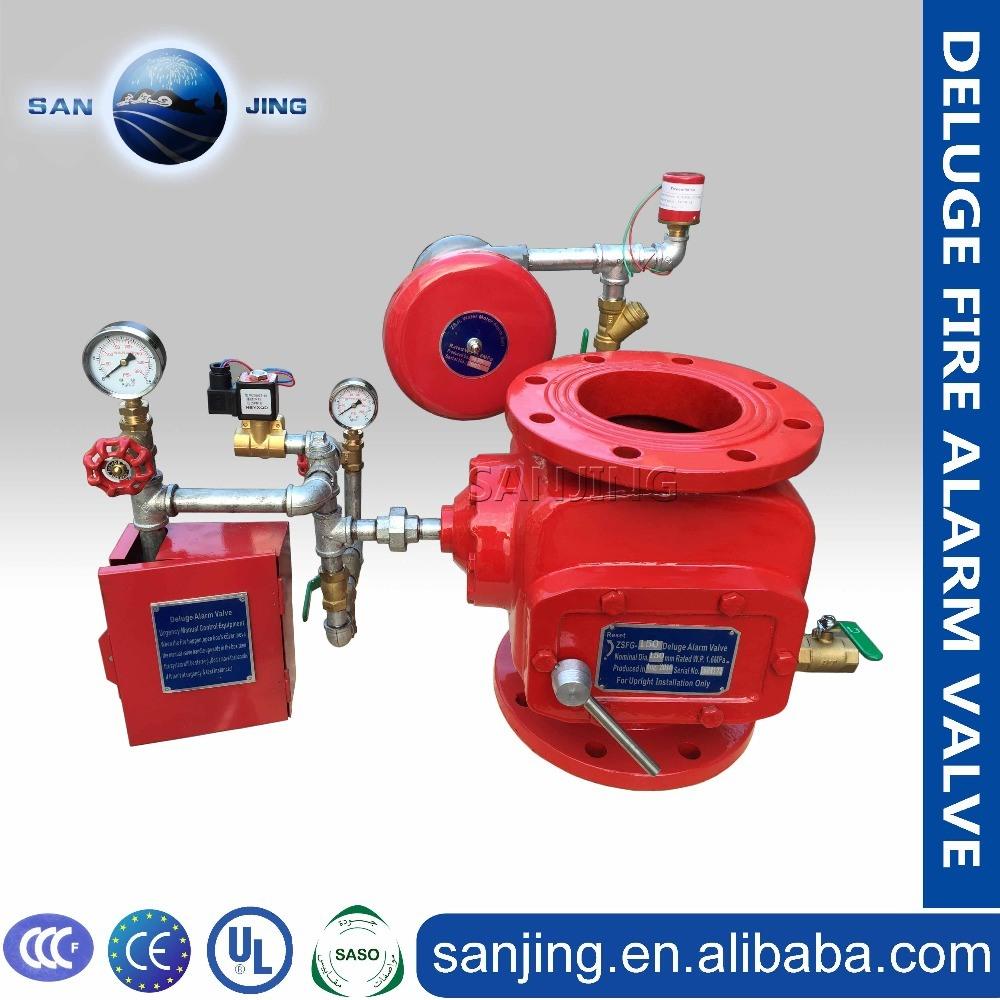 Top Quality Fire Alarm System Zsfz Wet Alarm Valve