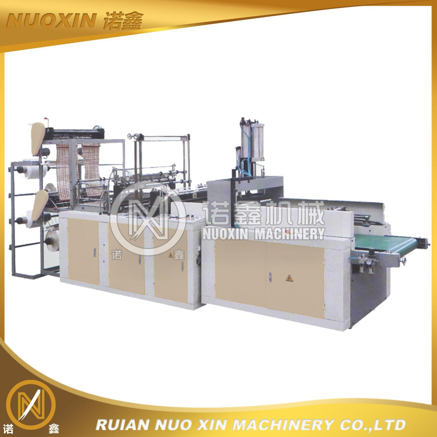 Hot Sealing Cold Cutting T-Shirt Bag Making Machine (NuoXin)