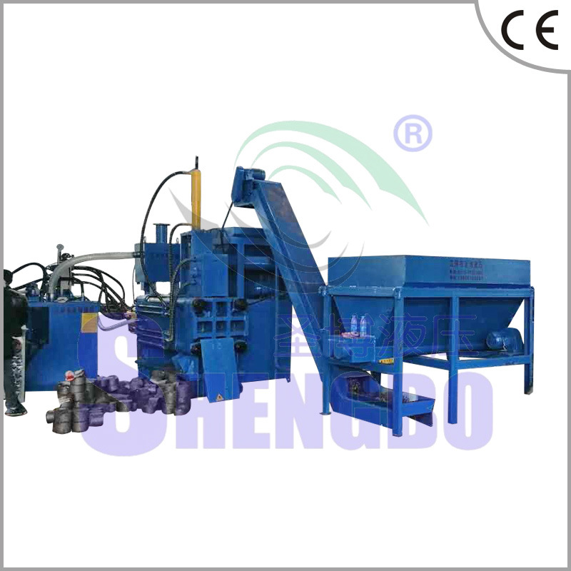 Y83W-3600 Automatic Horizontal Scrap Copper Metal Block Making Machine (CE)