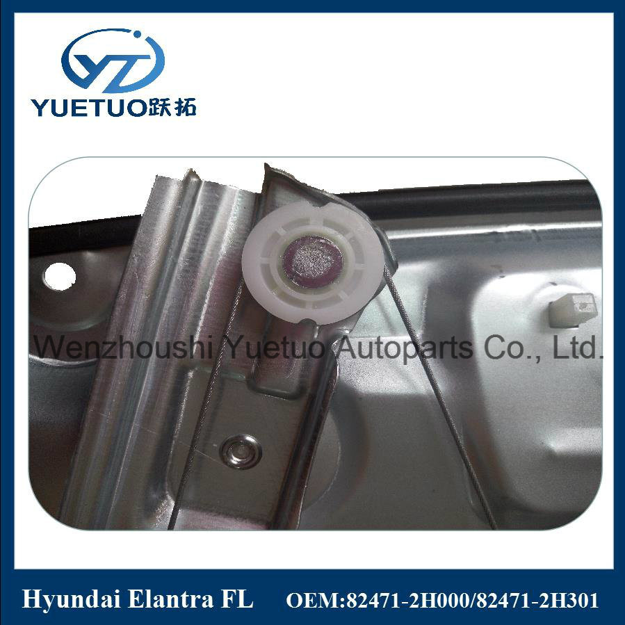 Auto Power Window Regulator for Hyundai 82471-2h000, 82481-2h000