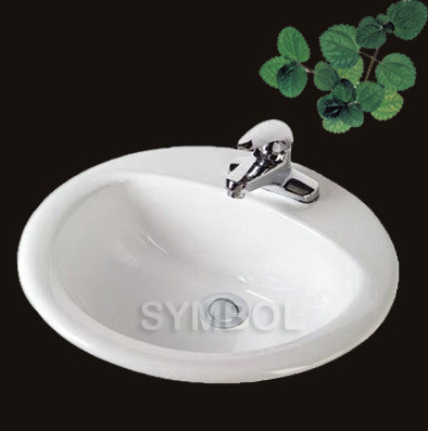 Bathroom Porcelain Drop in Sinks (SS-R1919) - China Drop in Sinks ...